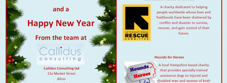 Christmas Charities.Our Christmas Charities Callidus Consulting